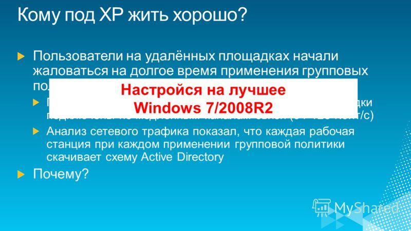 Настройся на лучшее Windows 7/2008R2