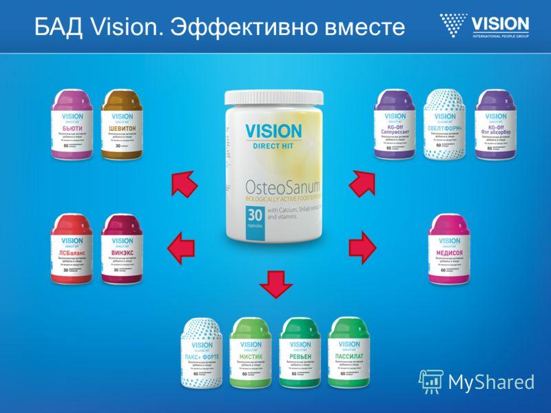 БАД Vision. Эффективно вместе