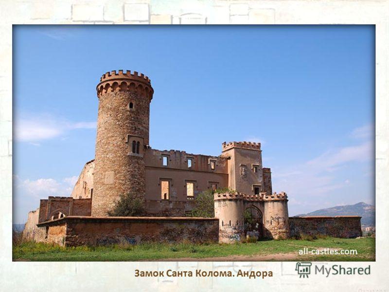 Замок Санта Колома. Андора all-castles.com