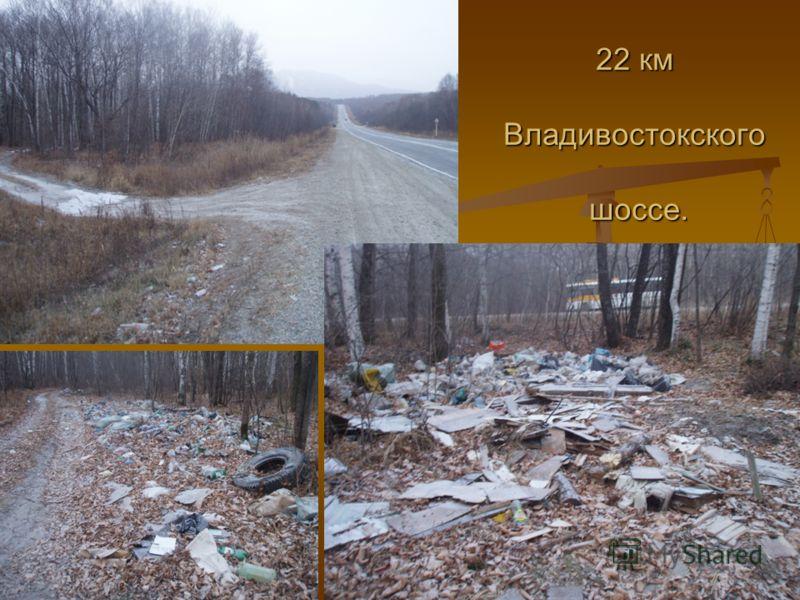 22 км Владивостокского шоссе.