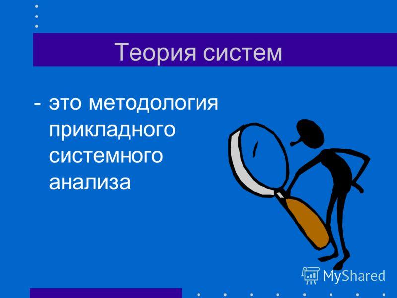 Решение проблем Прикладной системный анализ - теория и практика решения проблем