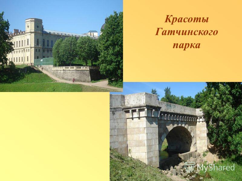 Красоты Гатчинского парка