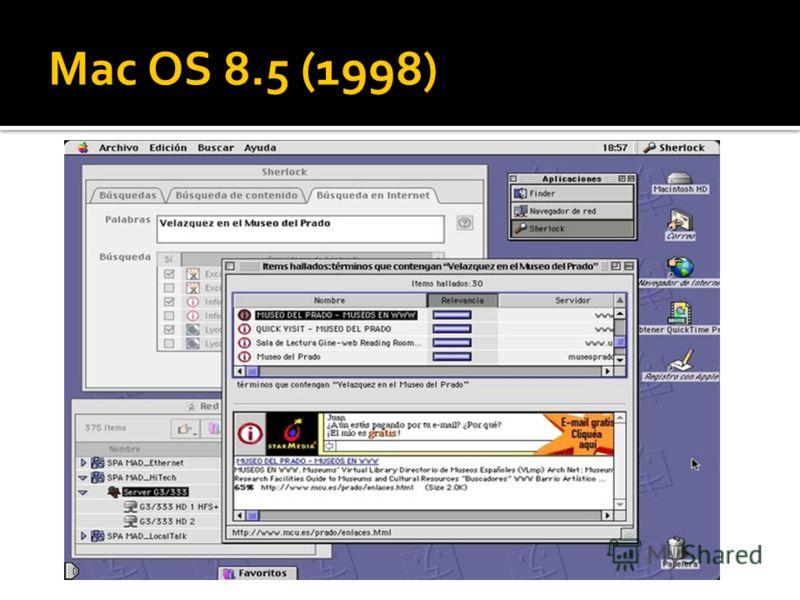 Mac OS 8.5 (1998)