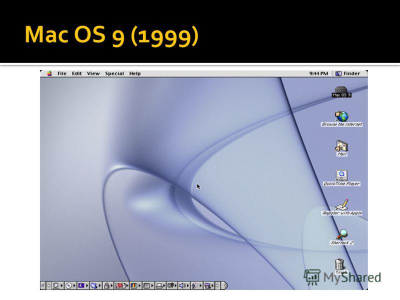 Mac OS 9 (1999)