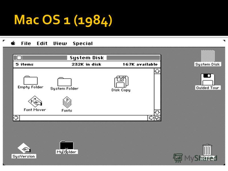 Mac OS 1 (1984)
