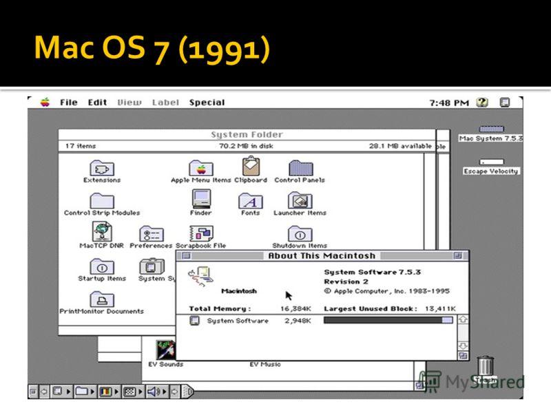 Mac OS 7 (1991)