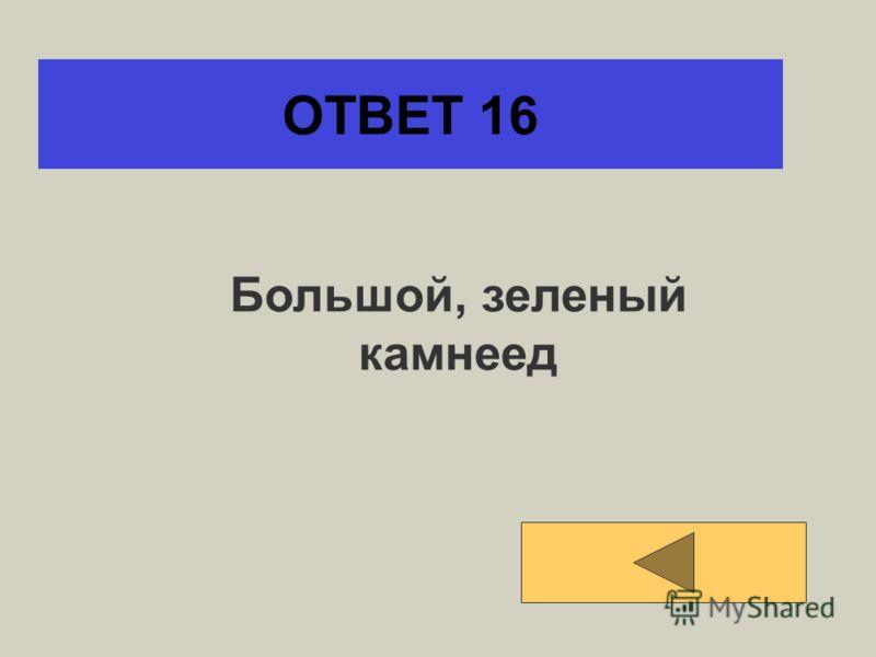 ОТВЕТ 15 Прямоугольный