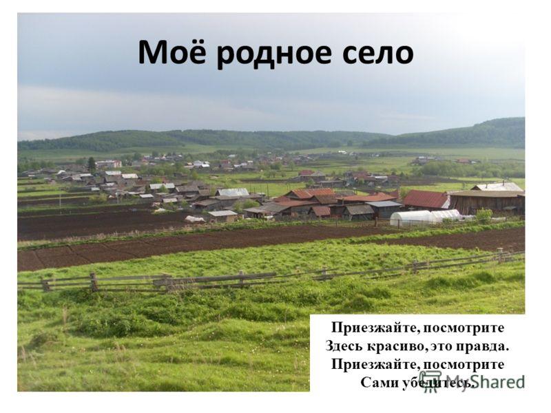 Это дорога, идущая в мое родное село.