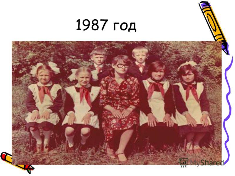 1987 год