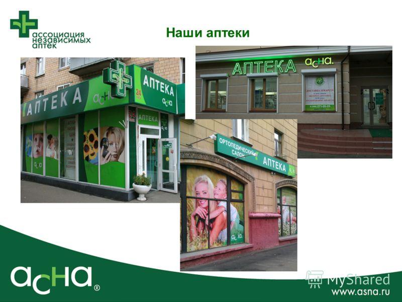 Наши аптеки