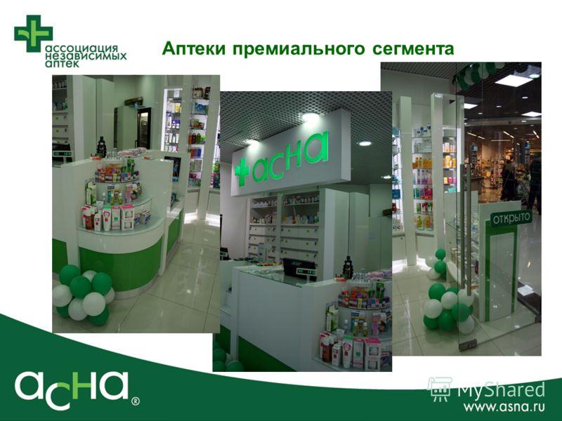 Аптеки премиального сегмента