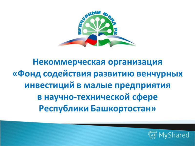 Некоммерческая организация «Фонд содействия развитию венчурных инвестиций в малые предприятия в научно-технической сфере Республики Башкортостан»