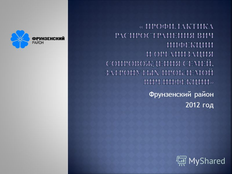 Фрунзенский район 2012 год