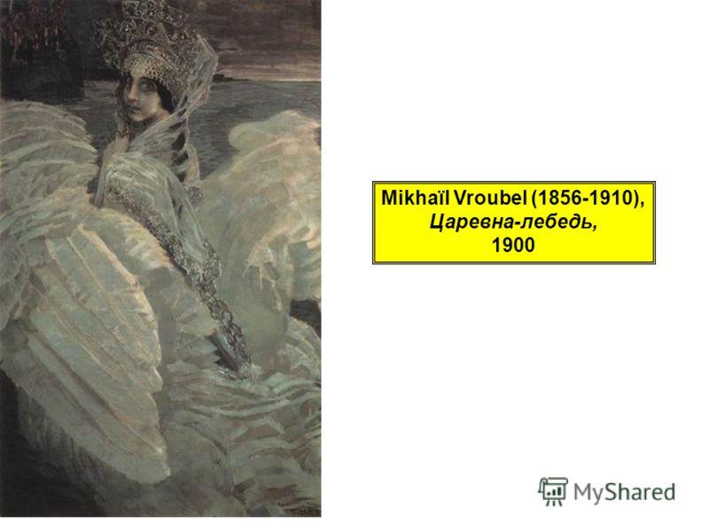 Mikhaïl Vroubel (1856-1910), Царевна-лебедь, 1900