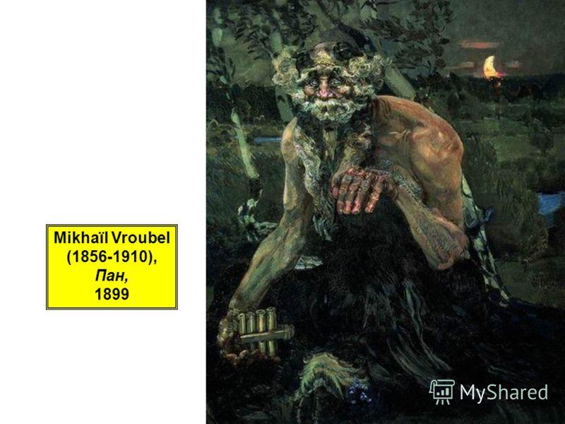 Mikhaïl Vroubel (1856-1910), Пан, 1899