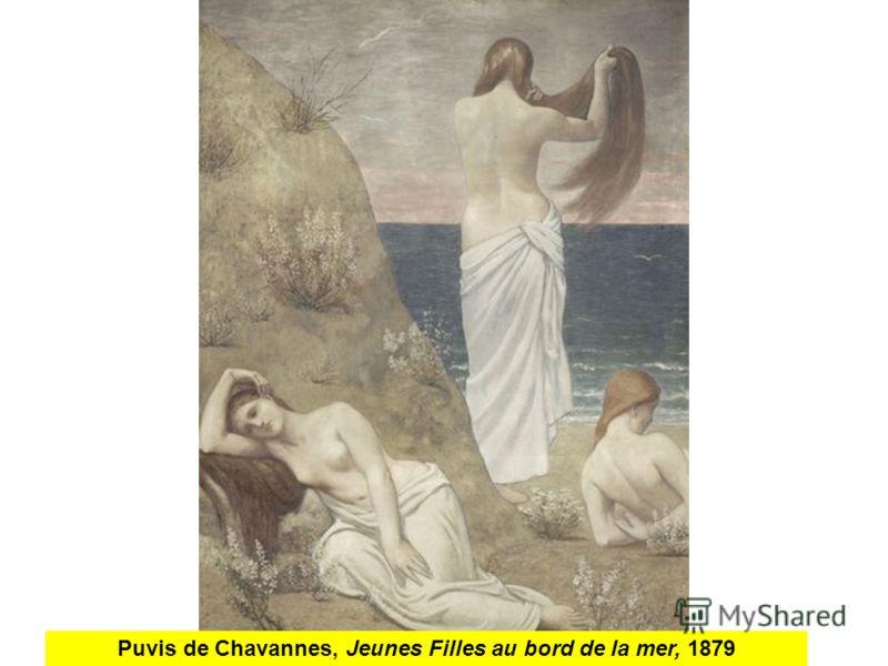 Puvis de Chavannes, Jeunes Filles au bord de la mer, 1879