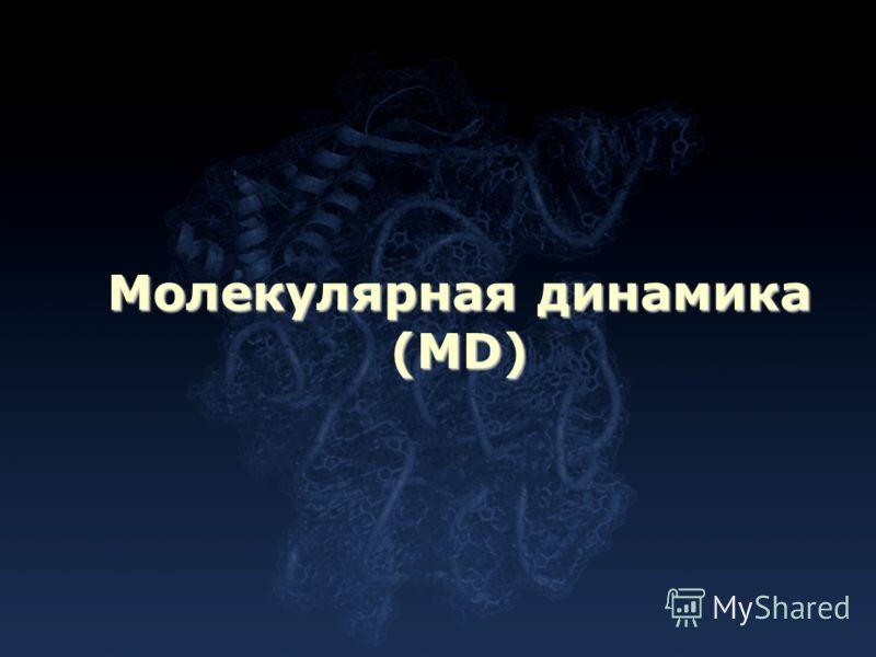 Молекулярная динамика (MD)