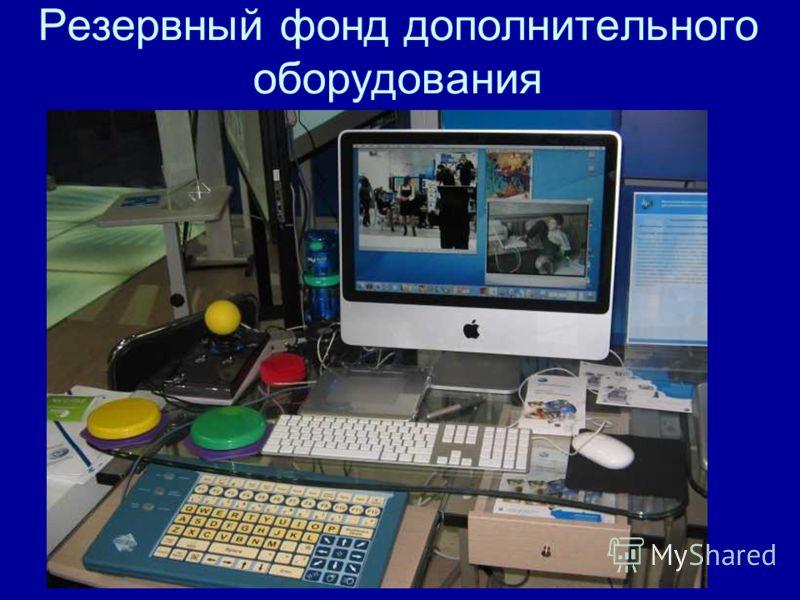Резервный фонд дополнительного оборудования
