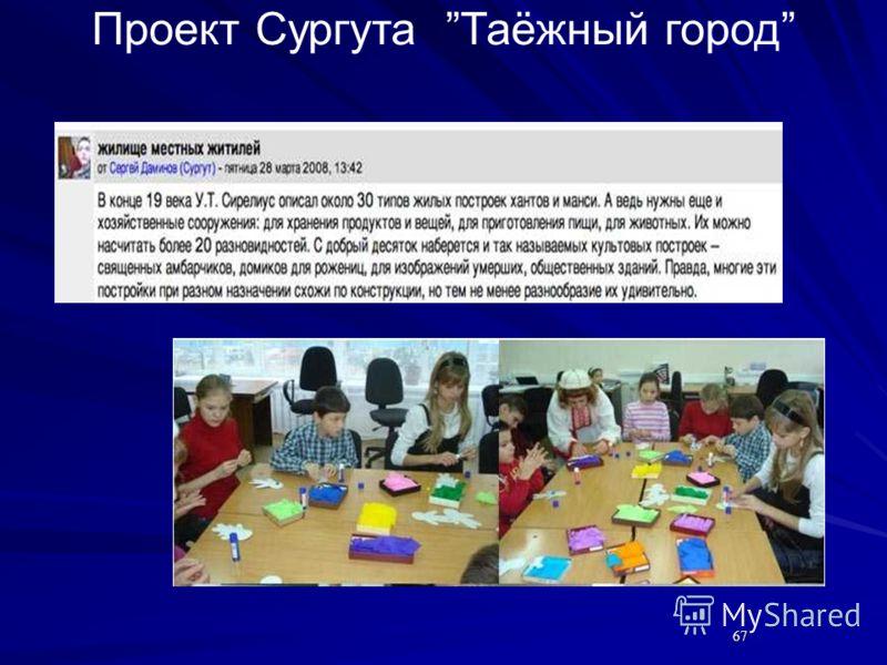6767 Проект Сургута Таёжный город