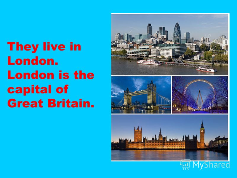 They live in London. London is the capital of Great Britain.