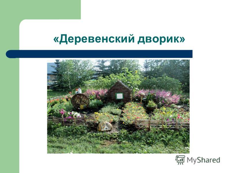 «Деревенский дворик»