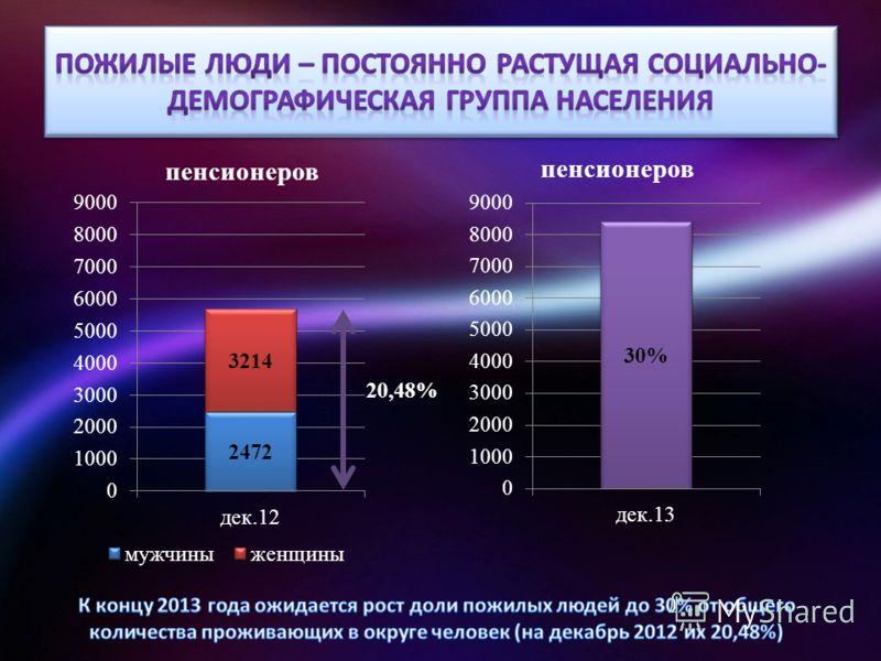 пенсионеров 20,48%