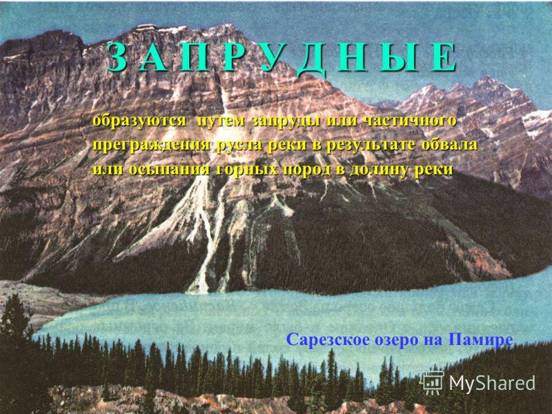 Л Е Д Н И К О В Ы Е образуются в районах моренного рельефа в понижениях между холмами и грядами оз. Селигер