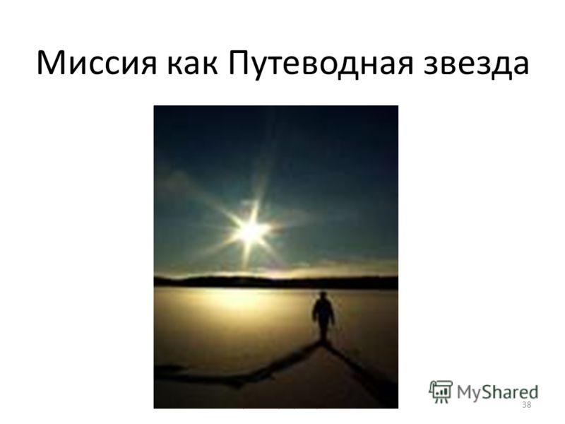 © Тренинг-центр Голубка38 Миссия как Путеводная звезда