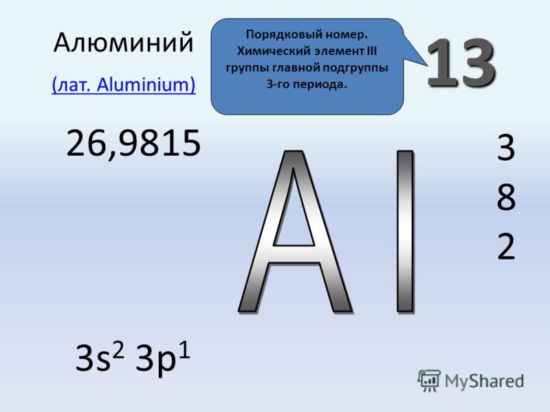 Характеристика алюминия. Алюминий: общая характеристика