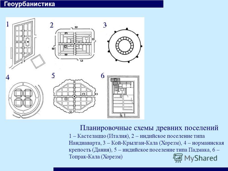 Планировочные схемы древних