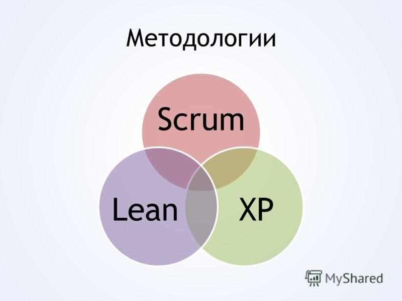 Методологии Scrum XPLean