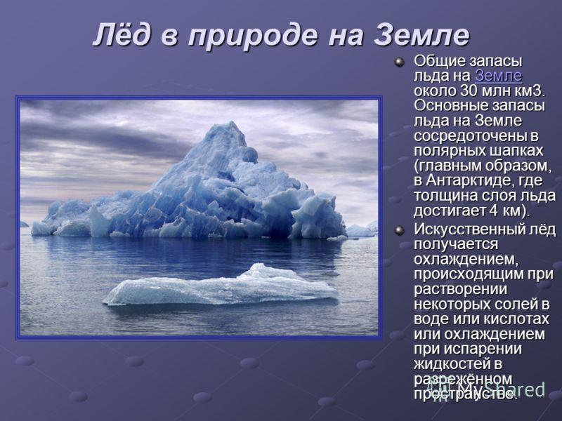 Твёрдое лёд (СНЕГ) лёд