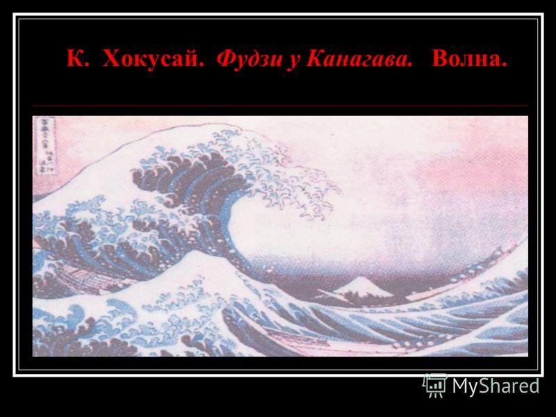 К. Хокусай. Фудзи у Канагава. Волна.