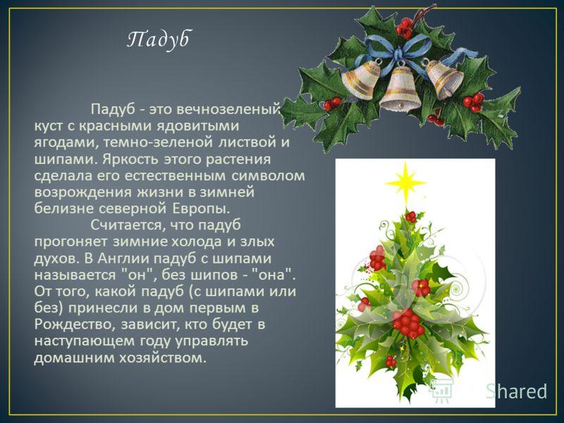 В Скандинавских странах и Германии 24- го декабря Санта Клаус стучит в дверь, в Англии же и Америке его посещение секретно. Санта Клаус якобы попадает в дом через дымоход.