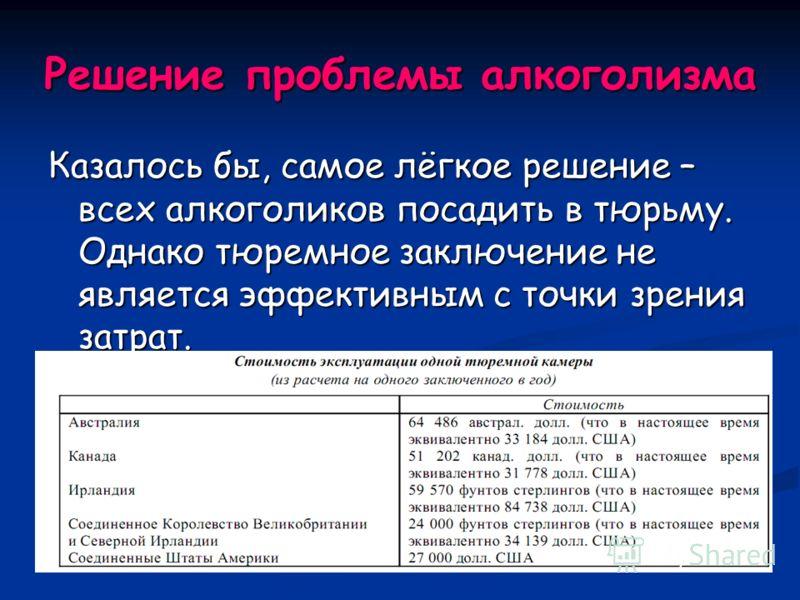 Заключение на тему алкоголизм в россии лечение от алкоголизма тимофеевка тольяти