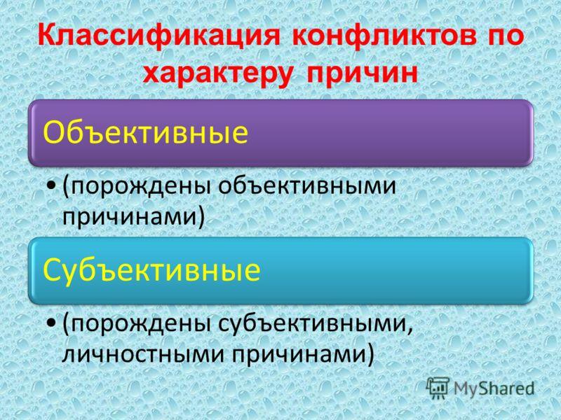 Классификация конфликтов по значению для групп и организации Конструктивные (созидательные, позитивные) Деструктивные (разрушительные, негативные
