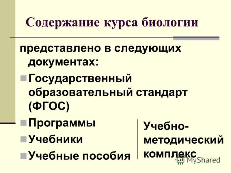содержание учебной программы: