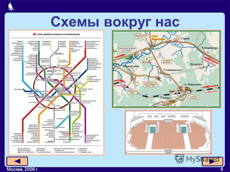 Москва, 2006 г.6 Схемы вокруг нас