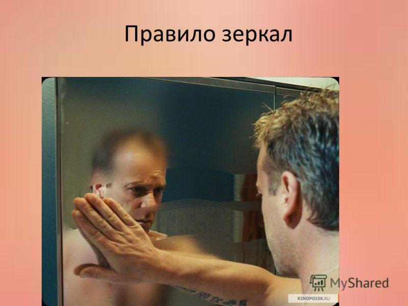 Правило зеркал