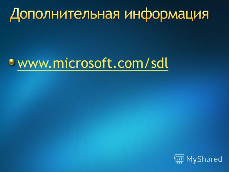 www.microsoft.com/sdl