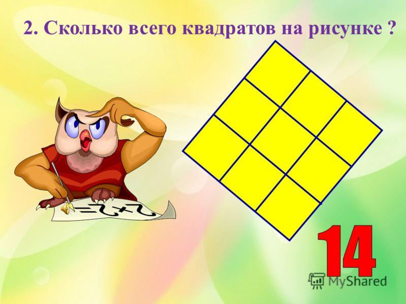 Вопросы отбора второй тройки игроков 1. У девочки было целое яблоко, 2 половинки и 4 четвертинки. Сколько яблок было у девочки?