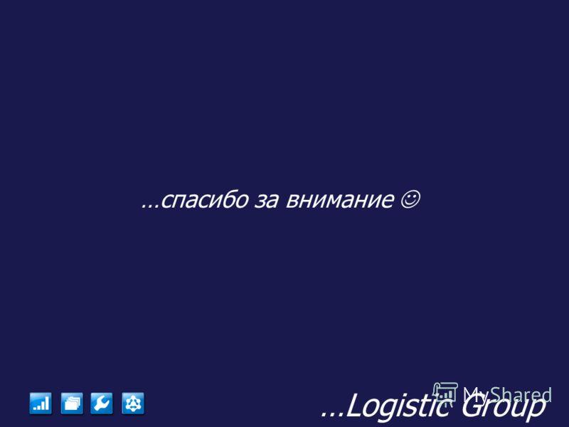 …Logistic Group …спасибо за внимание