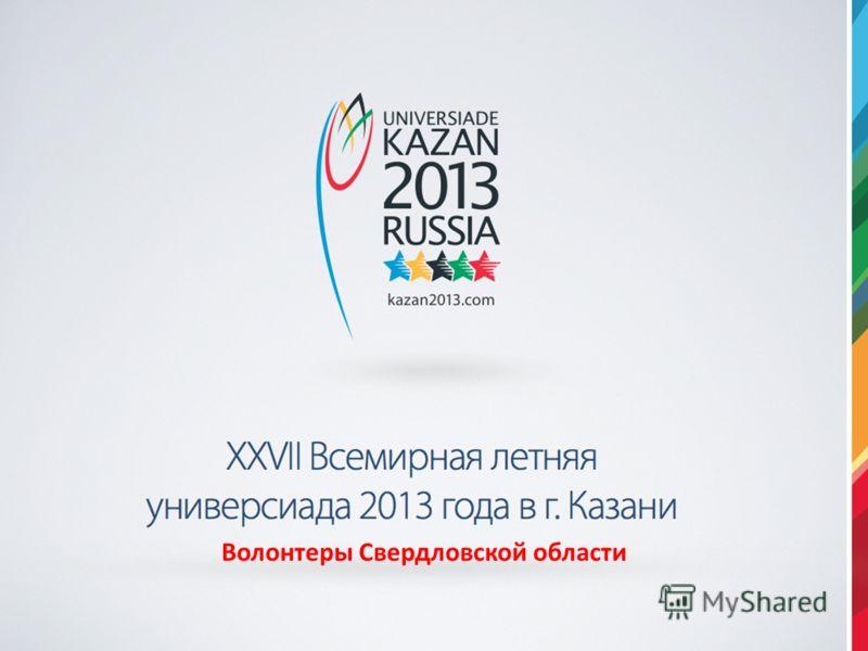 Волонтеры Свердловской области