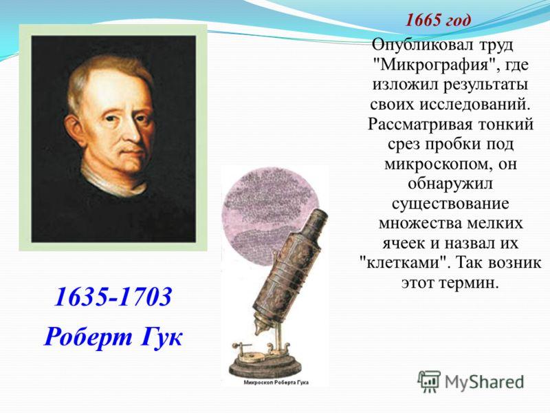 1665 год Опубликовал труд