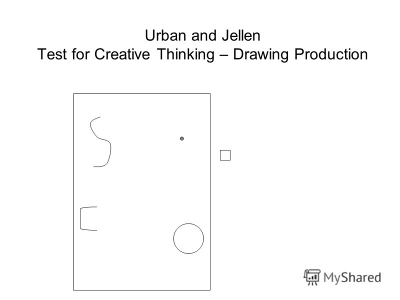 Urban and Jellen Test for Creative Thinking – Drawing Production