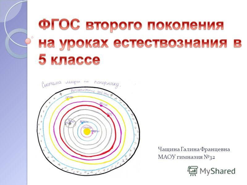 Чащина Галина Францевна МАОУ гимназия 32