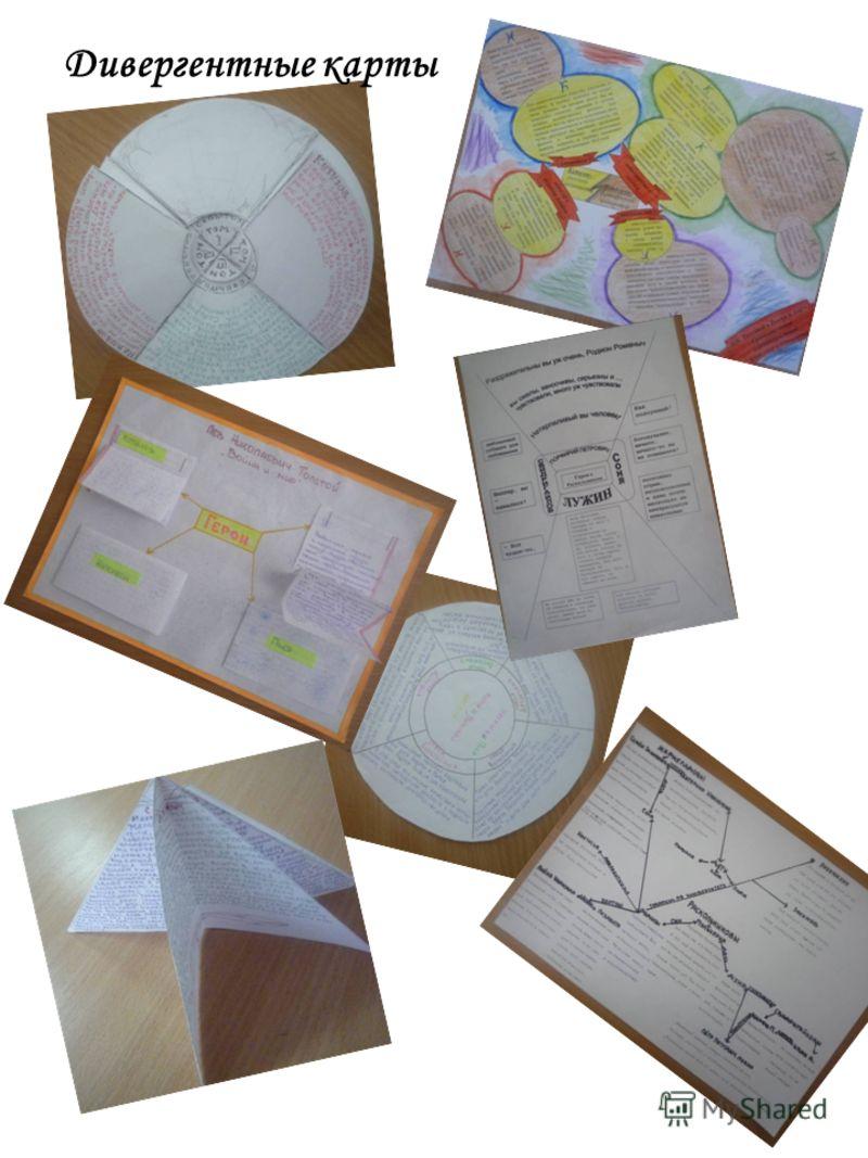Дивергентные карты
