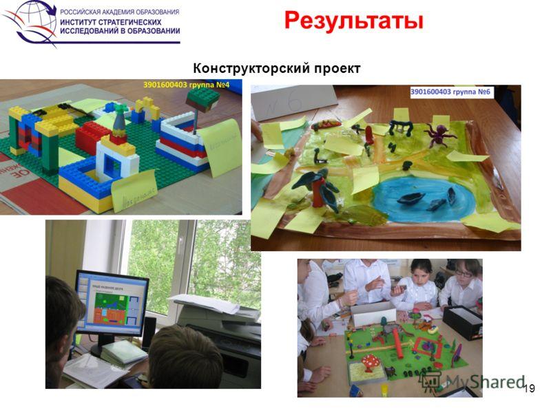 Результаты 19 2 Конструкторский проект