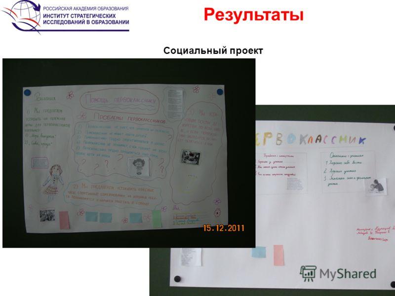 Результаты 21 2 Социальный проект