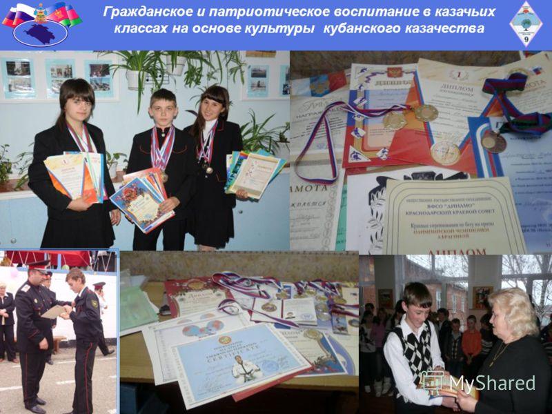 Гражданское и патриотическое воспитание в казачьих классах на основе культуры кубанского казачества